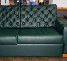 Перетяжка дивана экокожей. Ремонт мебели. Замена обшивки от 500 рублей - Мягкая мебель в Симферополе