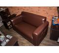 Перетяжка дивана и пуфика кожей. Перетяжка мебели от 500 рублей - Мягкая мебель в Симферополе