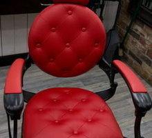Перетяжка кресел барбера и каретная стяжка. Перетяжка мебели от 500 рублей. Крым мебель - Мягкая мебель в Симферополе