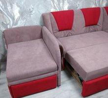 Перетяжка дивана углового и дивана малютки. Перетяжка от 500 рублей. Крым мебель - Мягкая мебель в Симферополе