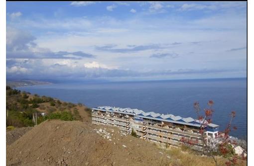 Участок 30 соток в г. Алуште в п. Семидворьи мкр. Дельфин район Рыбачий стан 350 м. от моря видовой - Участки в Алуште