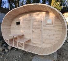 Овальная баня из кедра - Бани, бассейны и сауны в Симферополе