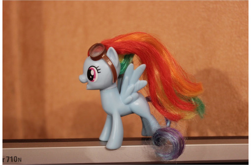 Фигурка My little pony Rainbow Dash Радуга Дэш, фото — «Реклама Севастополя»
