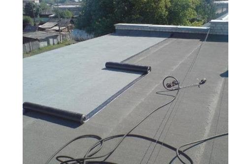 Ремонт крыш еврорубероид - Кровельные работы в Саках