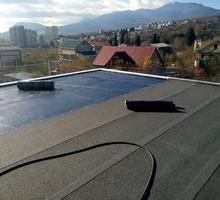 Ремонт крыш, еврорубероид - Кровельные работы в Форосе