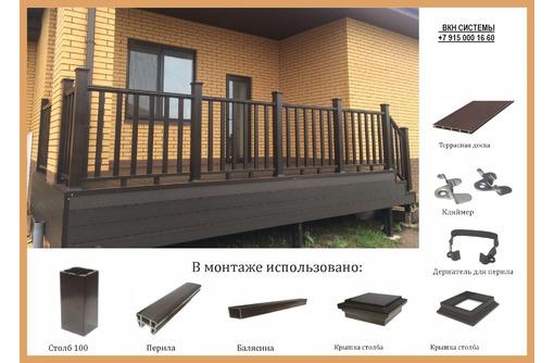 Террасная напольная доска для отделки фасадов, спортивных и детских площадок, беседок, дорожек - Ремонт, отделка в Севастополе