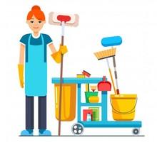 Клинер  (уборщица) - Рабочие специальности, производство в Евпатории