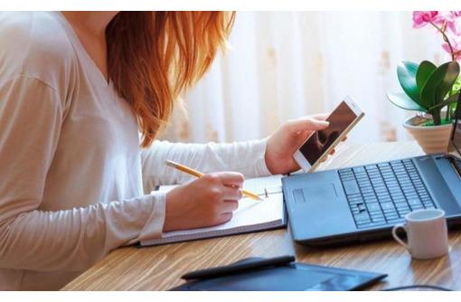 Работа для женщин в интернете/подработка /с обучением - Работа на дому в Севастополе