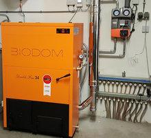 Пеллетный котел нового поколения BIODOM 27C5 - Газ, отопление в Ялте