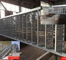 Лестницы из металла, изготовление элементов лестниц: ступеньки перила закладные - Лестницы в Севастополе