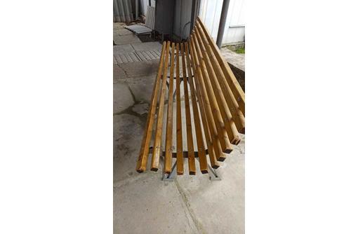 Скамейки парковые, лестницы ворота навесы козырьки перила нестандартные конструкции - Металлические конструкции в Севастополе