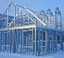 Металлические каркасы для зданий колонны фермы  прогоны лестницы, нестандартные металлконструкци - Металлические конструкции в Севастополе