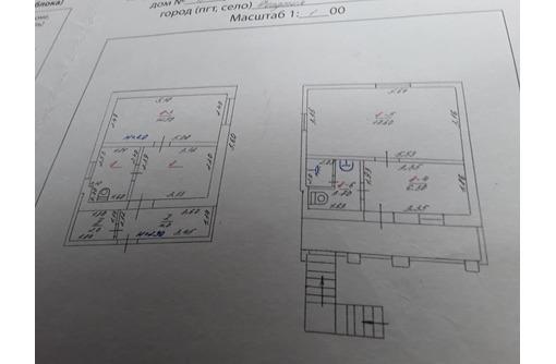 Продается дом со статусом квартиры на земле  общей площадью 57.5 м2, два этажа - Дома в Феодосии