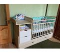 Детская кроватка трансформер с маятником - Детская мебель в Севастополе