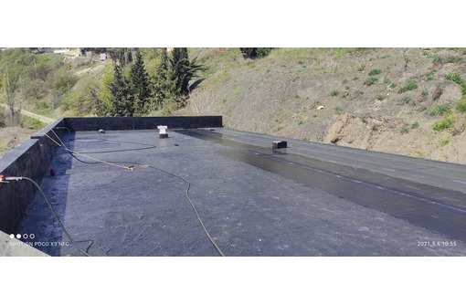 Ремонт крыш - (Еврорубероид) - Кровельные работы в Феодосии