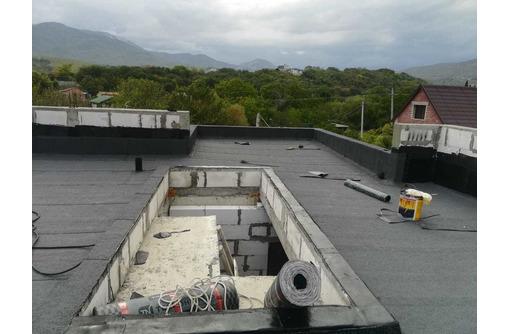 Ремонт плоских крыш (еврорубероид) - Кровельные работы в Севастополе
