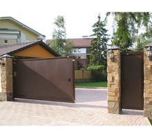 Изготовление и монтаж ворот ДорХан в Ялте - Заборы, ворота в Ялте