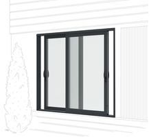 Алюминиевые окна, двери и перегородки для дома офиса квартиры - Окна в Ялте