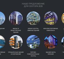 Фасадное остекление домов и любых зданий - алюминиевые и пвх профили - Окна в Алуште
