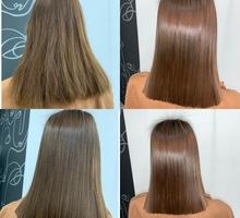 Кератиновое выпрямление, ботокс для волос - Парикмахерские услуги в Севастополе