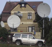 Установка и настройка спутниковой антенны и ресивера - Спутниковое телевидение в Ялте