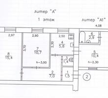 Продам 2-е комнаты в квартире - Комнаты в Севастополе