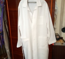 Халат белый медицинский размер 52-54 новый - Спецодежда в Евпатории