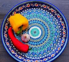 Ляган (блюдо ) узбекское 42 см - Посуда в Симферополе