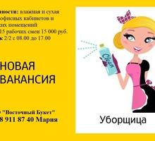 Уборщица офисных кабинетов и складских помещений - Рабочие специальности, производство в Симферополе