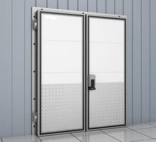 Дверь Холодильная для Овощехранилища Камеры Заморозки Склада - Продажа в Джанкое