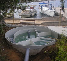 Автономная канализация August для гостиниц - Сантехника, канализация, водопровод в Феодосии