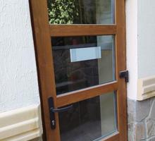 Пластиковые двери на заказ из профиля VEKA официальное производство гарантии договор - Входные двери в Гурзуфе