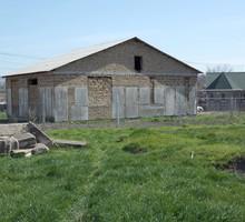 Продаю земельный участок 8 c. c недостроенным домом 117 м2 - Участки в Крыму