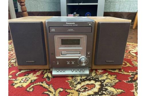 Музыкальный центр panasonic cd stereo и колонки - Музыкальные центры и магнитолы в Феодосии