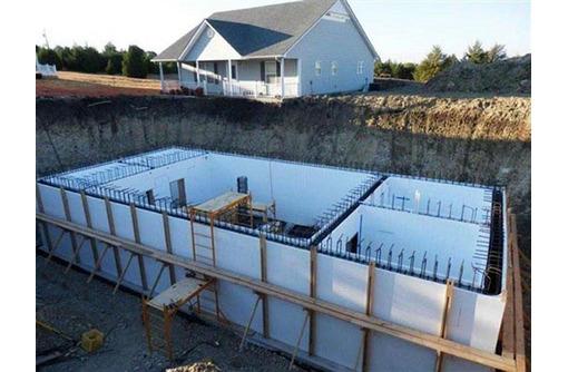 Строительство частного бункера - Строительные работы в Севастополе
