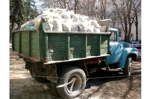Вывоз строительного мусора, хлама, грунта. Демонтажные работы. Любые объёмы!!! Без выходных - Вывоз мусора в Феодосии