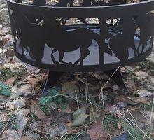"""Костровая чаша """"Лошади"""" - Садовая мебель и декор в Севастополе"""