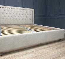 Кровать с каретной стяжкой от производителя - Мебель для спальни в Симферополе