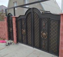 Заборы, ворота, калитки, кованные изделия в Симферополе - Заборы, ворота в Симферополе