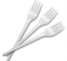 Вилка одноразовая Балтполимер - Посуда в Симферополе