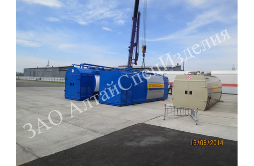 Контейнерная АЗС 10 куб на 2 вида топлива КАЗС-5.2Д - Продажа в Черноморском