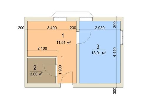 Апартаменты у моря 34,8 кв.м. Учкуевка. - Квартиры в Севастополе
