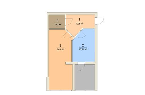 Апартаменты у моря 50,2 кв.м. Учкуевка. - Квартиры в Севастополе