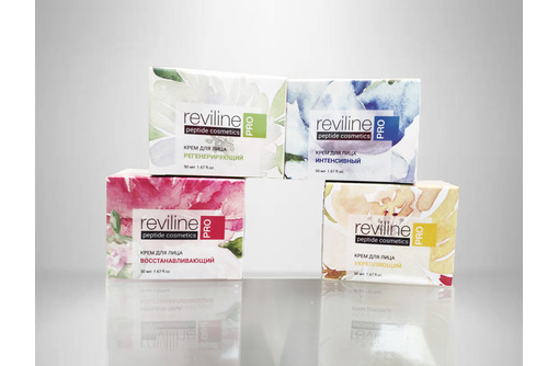 Крем для лица Reviline PRO  с пептидами - Косметика, парфюмерия в Севастополе
