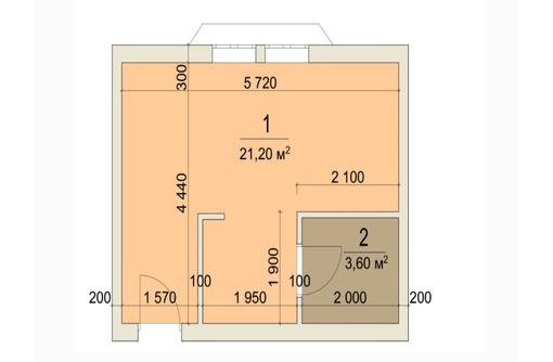 Апартаменты у моря 25,8 кв.м. Учкуевка. - Квартиры в Севастополе
