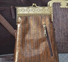 Женская сумочка - Тиффани-30  Бронза, винтаж - Сумки в Севастополе