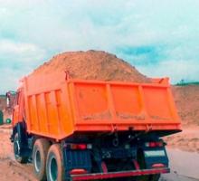 Песок морской и речной с доставкой - Сыпучие материалы в Крыму