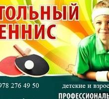 Детская и подростковая секция, настольный теннис в Феодосии - Детские спортивные клубы в Феодосии