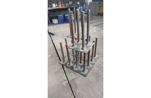 Металлоконструкции: крепления для башенных кранов, нестандартные конструкции из металла. - Строительные работы в Севастополе
