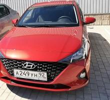 Аренда нового автомобиля Hyundai Solaris 2021 года выпуска - Прокат легковых авто в Севастополе